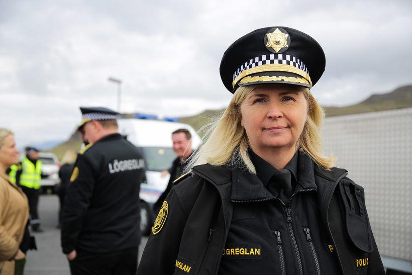 Northeast Iceland Chief of Police Halla Bergþóra Björnsdóttir.