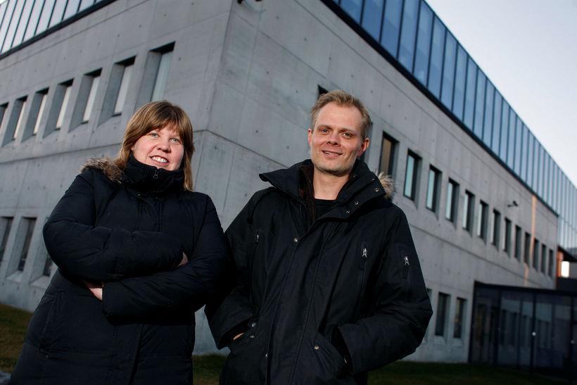 Sigrún Ólafsdóttir og Jón Gunnar Bernburg, prófessorar í félagsfræði.