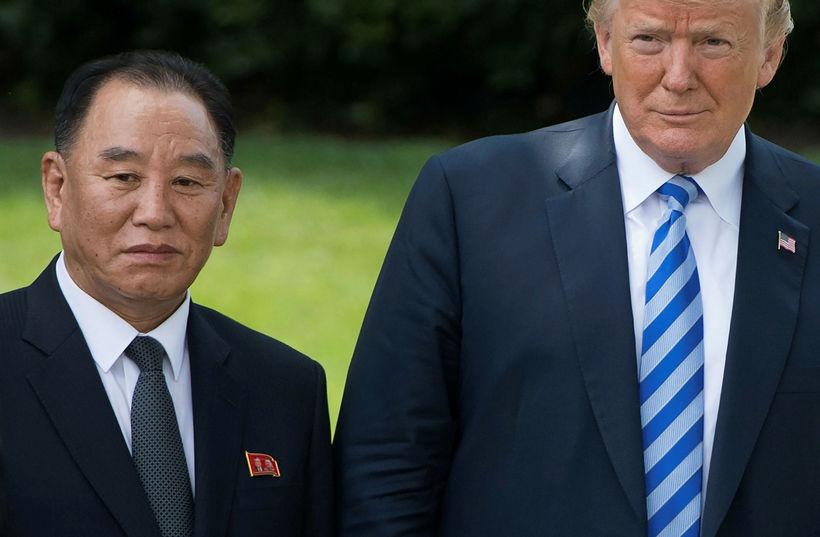 Harðlínumaðurinn Kim Yong Chol hefur hitt Trump og Pompeo og ...