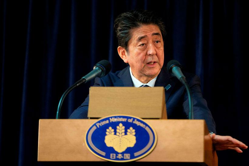 Shinzo Abe, forsætisráðherra Japans.