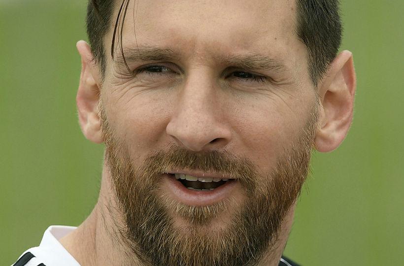 Lionel Messi fyrirliði Argentínu.
