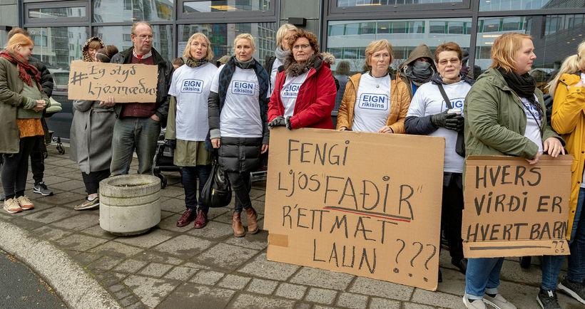 Ljósmæður eru óánægðar með úrskurð gerðardóms.