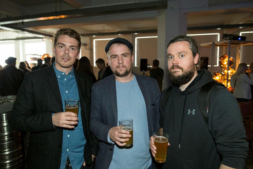 Andri Gunnar, Óli og Gunnar Logi.