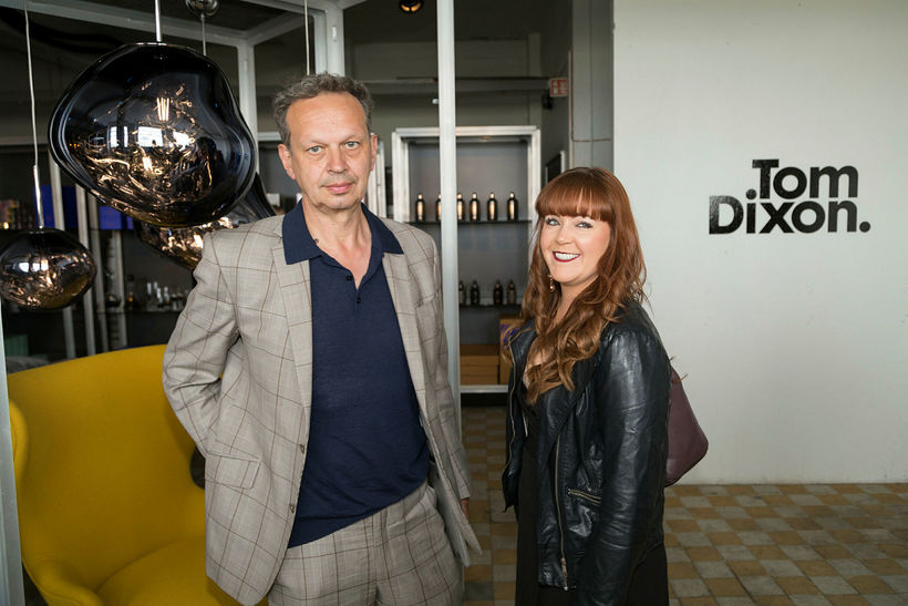Tom Dixon og Rebecca Bearman.