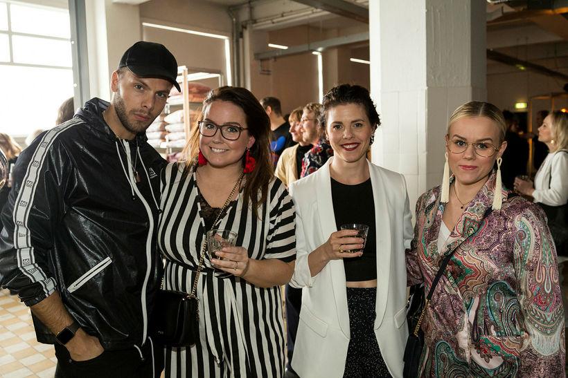 Helgi Ómarsson, Svana Lovísa, Kristbjörg Tinna Ásbjörnsdóttir og Hildur Jónsdóttir.