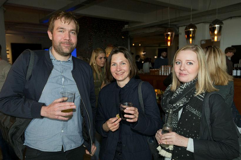 Arnar Sigurjónsson, Anna Leoniak og Rósa Hannesdóttir.