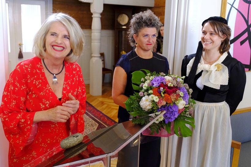 Edda Björgvinsdóttir, Borgarlistarmaður Reykjavíkur 2018, Elsa Hrafnhildur Yeoman og Líf ...