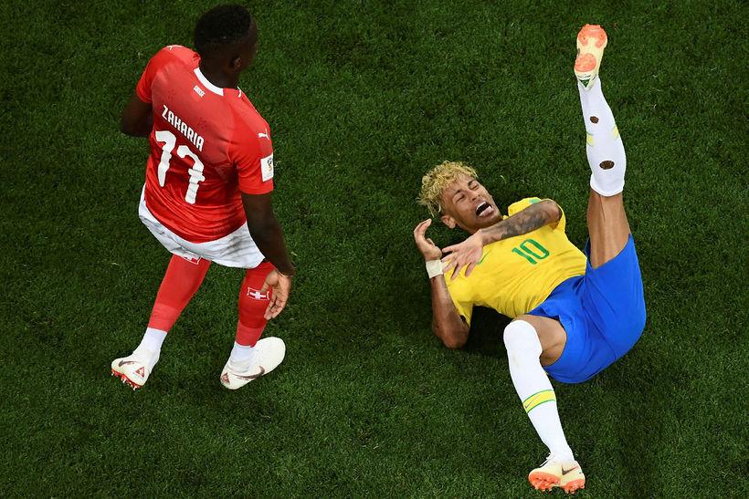 Neymar biður dómara um meiri vernd.