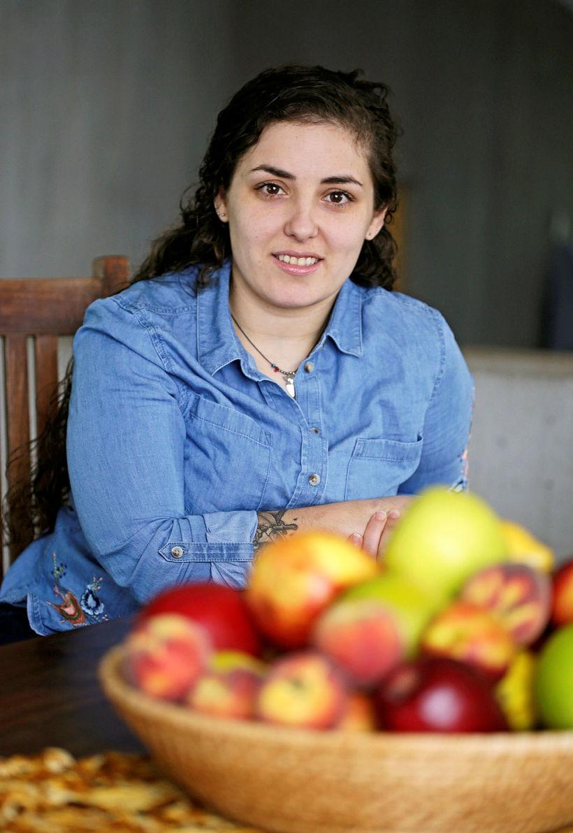 Silvía Carvalho er mikill meistarakokkur.