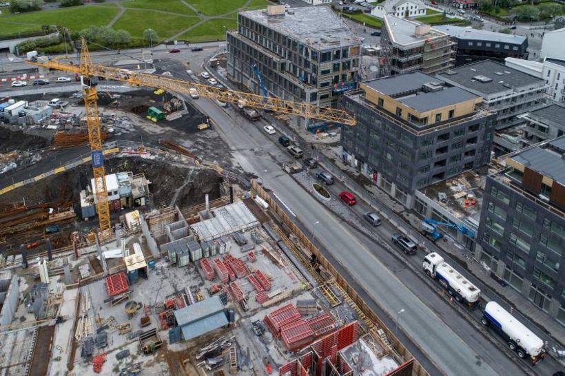 Miklar framkvæmdir hafa verið í Reykjavíkurborg að undanförnu, margar hverjar ...
