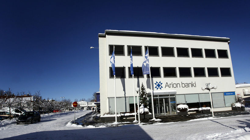 Arion banki á Akureyri.
