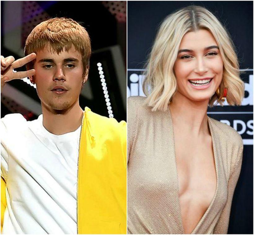Hjónin Justin Bieber og Hailey Bieber koma fram saman í ...