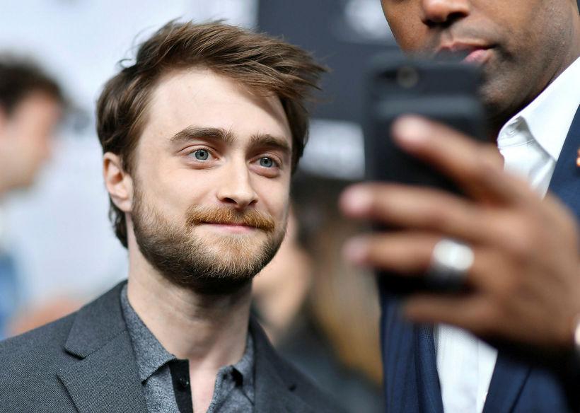 Daniel Radcliffe öðlaðist frægð fyrir Harry Potter-myndirnar.