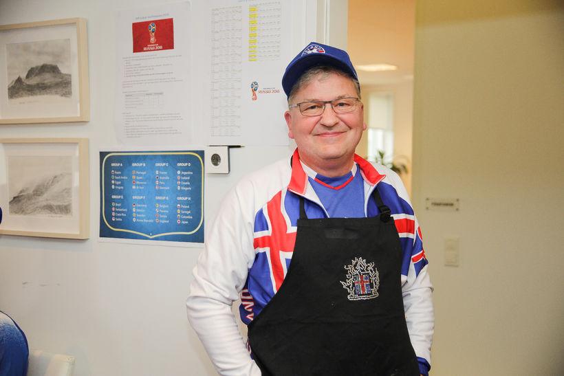Karl Björnsson, framkvæmdastjóri Sambands íslenskra sveitarfélaga. Hann spáir Íslandi sigri ...
