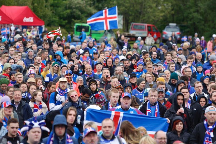 Áfram Ísland!
