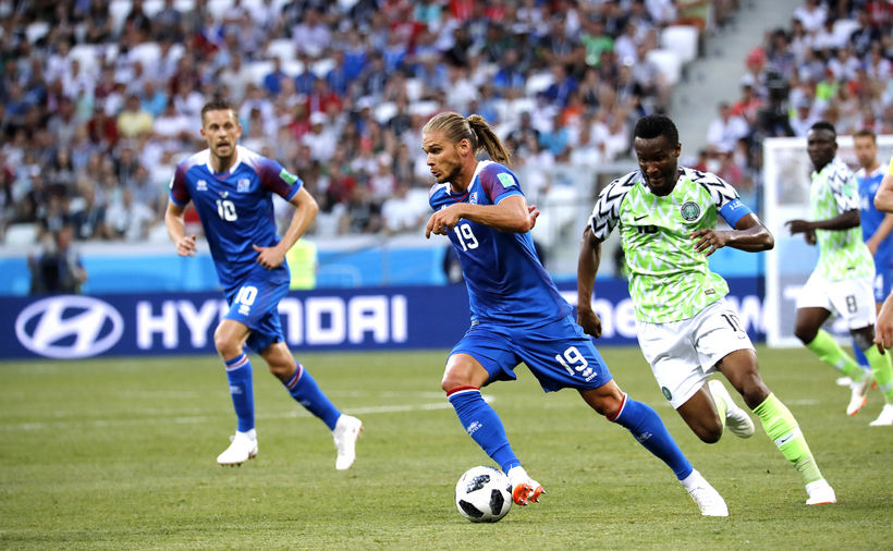 Ahmed Musa Threat to Us - Argentina