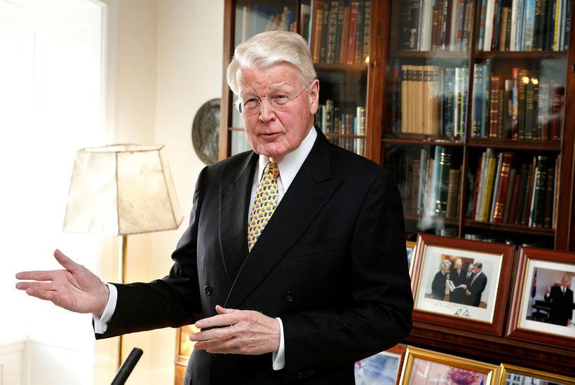 Former President of Iceland Ólafur Ragnar Grímsson.