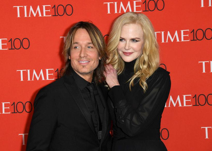 Keith Urban og Nicole Kidman.