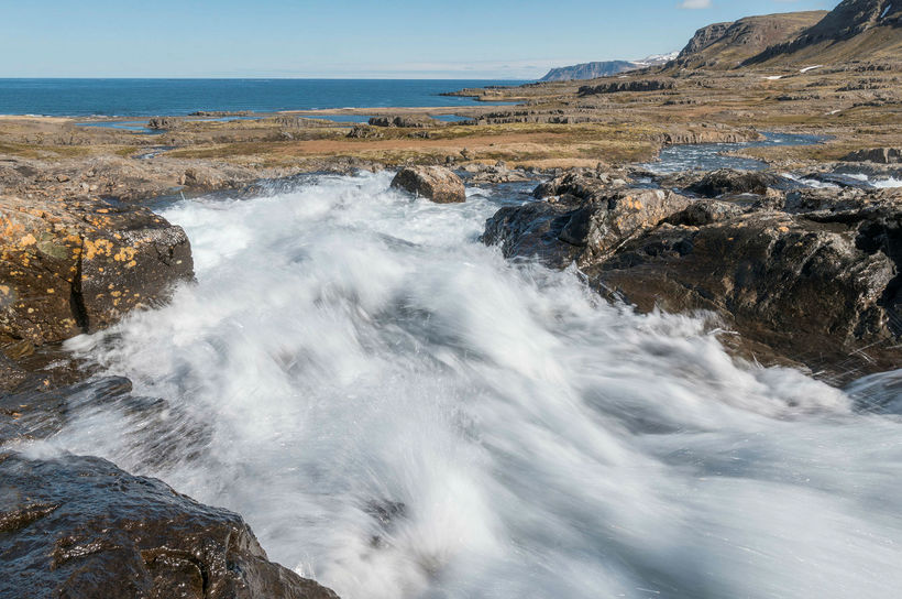 Til stendur að virkja rennsli þriggja áa á Ófeigsfjarðarheiði.