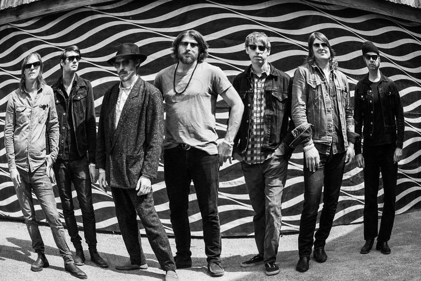 The Brian Jonestown Massacre. Hákon Aðalsteinsson is second from the ...