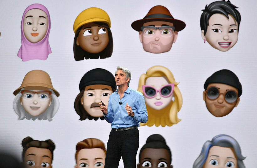 Apple kynnti iOS 12 í gær.
