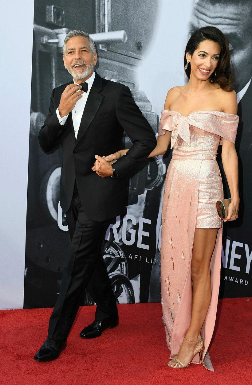 George og Amal Clooney.