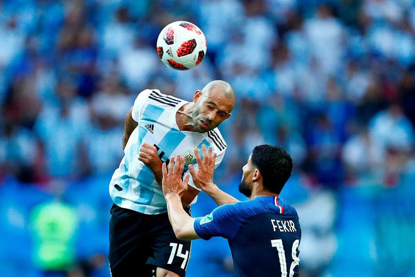 Javier Mascherano hefur leikið sinn síðasta landsleik.