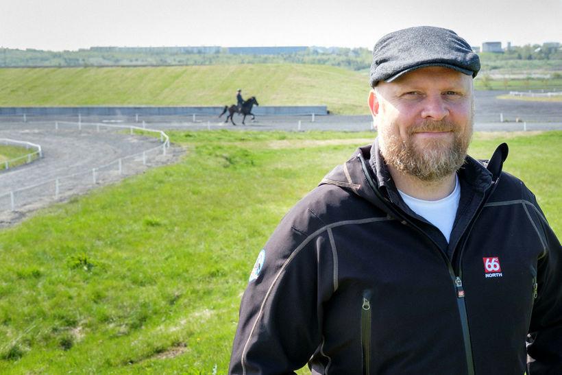 Áskell Heiðar Ásgeirsson framkvæmdastjóri Landsmóts hestamanna. Hann segir gesti m.a. ...