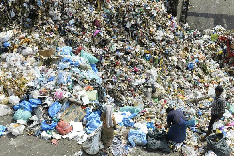 Plast er mengandi fyrir umhverfi og lífríki, ekki síst ef ...