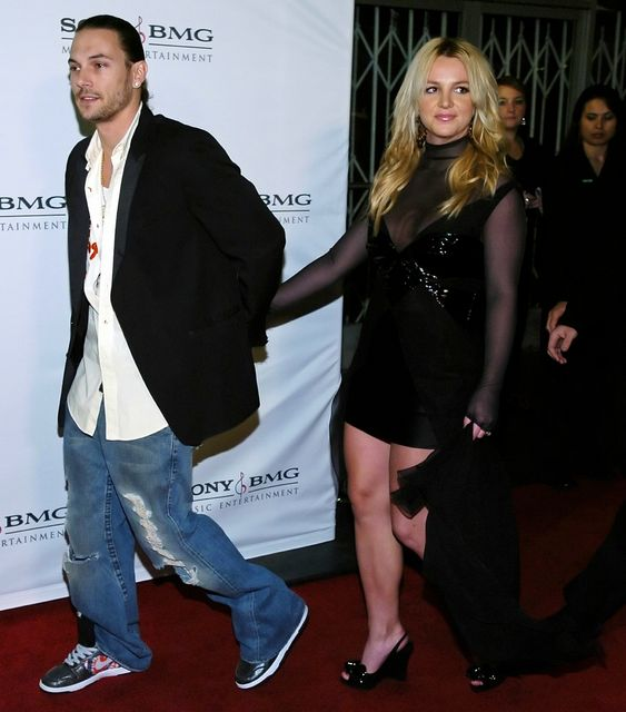 Britney Spears og Kevin Federline.