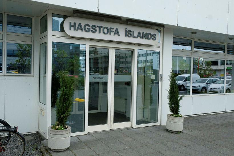 Hagstofa Íslands hefur birt tölur um halla á vöruskiptum í ...