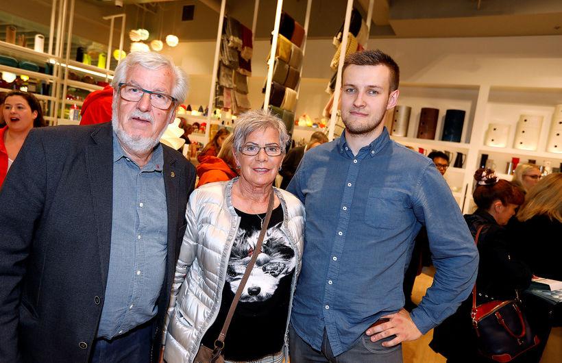 Gylfi Ármannsson, Ólavía Sigurbergsdóttir og Rósant Friðrik Skúlason.