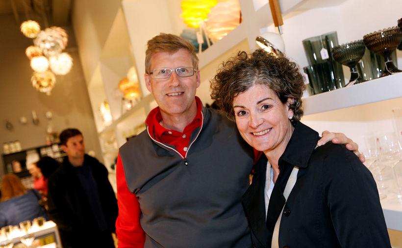 Stefán Jóhannesson og Júlía Linda Ómarsdóttir.