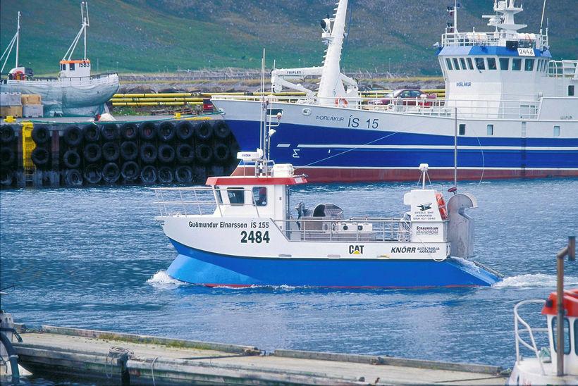 Strandveiðar skipa sífellst stærri sess.