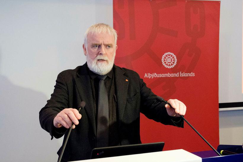 Gylfi Arnbjörnsson, forseti Alþýðusambands Íslands.