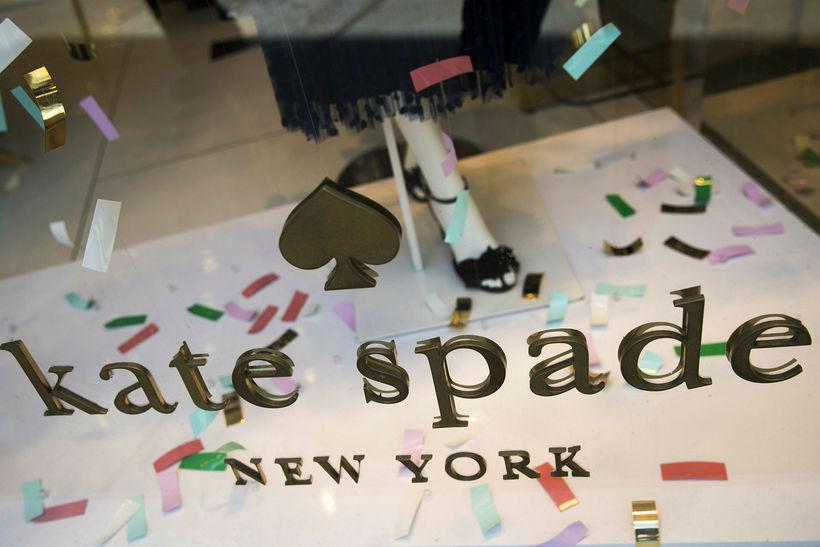 Kate Spade merkið er heimsþekkt.