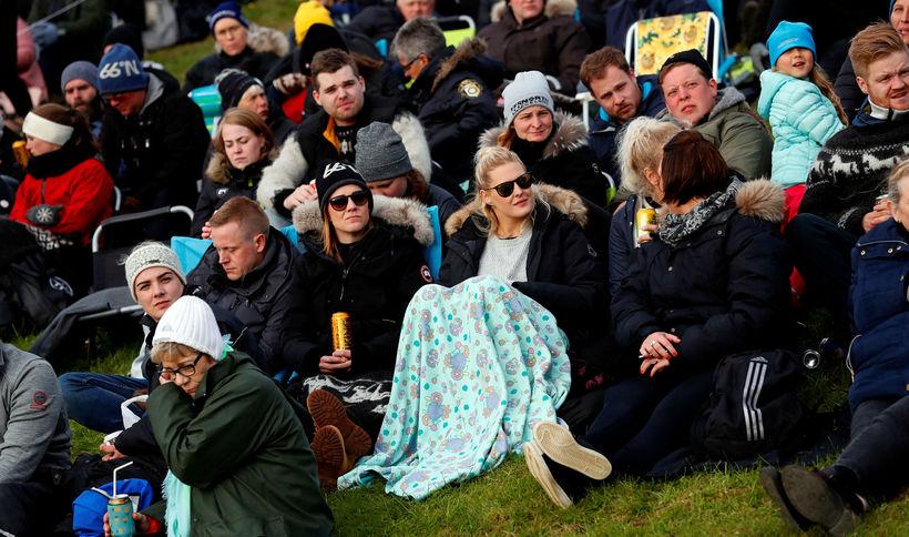 Landsmót hestamanna 2018 í Víðidal.