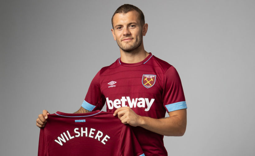 Jack Wilshere fær tækifæri með West Ham.