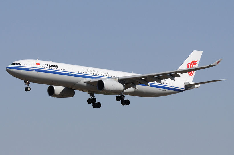 Vél Air China.