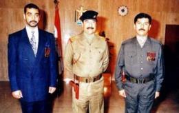 Uday, Saddam og Qusay.