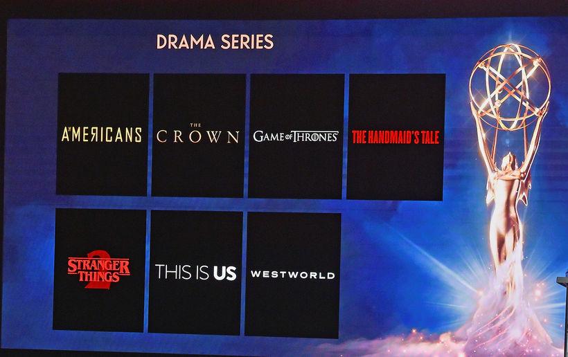 Game of Thrones er meðal annars tilnefnd sem besta dramaþáttaröðin.