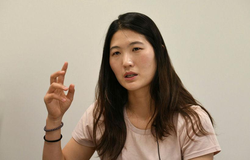 Kim Eun-hee æfði tennis allt frá barnsaldri. Þjálfari hennar nauðgaði ...
