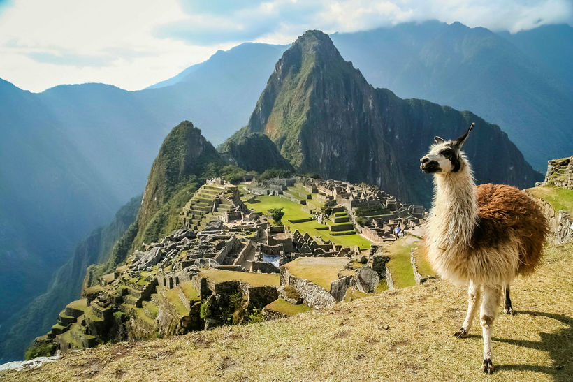 Gangan upp til Macchu Picchu í Perú er í fjórða ...
