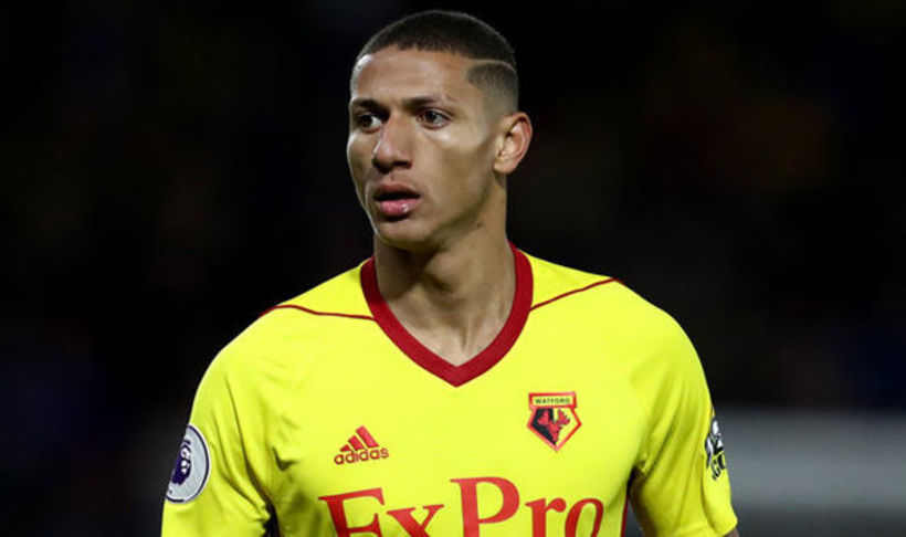 Brasilíski kantmaðurinn Richarlison er kominn til Everton frá Watford fyrir ...