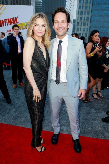 Michelle Pfeiffer og Paul Rudd á frumsýningu Ant Man í ...