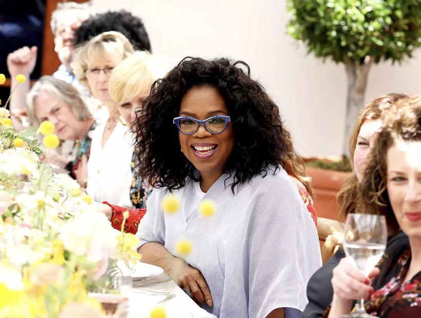 Spjallþáttadrottningin Oprah Winfrey hefur fjárfest í True Food Kitchen, en ...