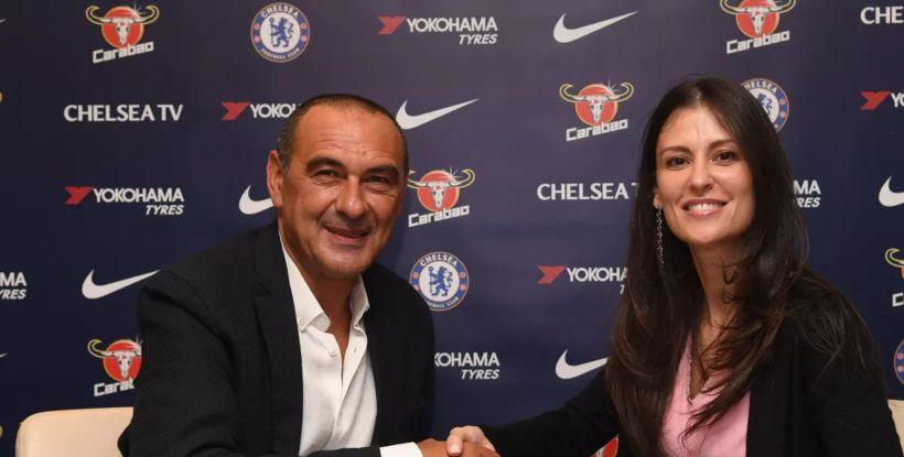 Maurizio Zarri er nýjasti knattspyrnustjóri Chelsea.