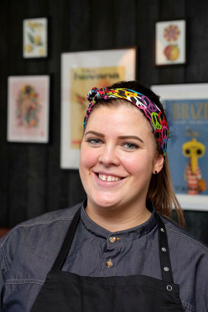 Aníta Ösp Ingólfsdóttir, yfirmatreiðslumeistari á RIO Reykjavík.
