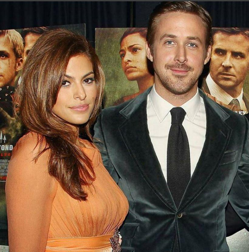 Eva Mendez og Ryan Gosling hafa verið par frá því …