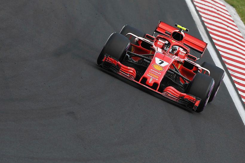 Ferraribíllinn var fljótur í förum á fyrsta degi reynsluakstursins í ...